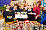 Pictured at the Blennerville National School bake sale on Friday were l-r: Sheanna Marie Moriarty, Terry O'Sullivan (Principal) Maeve Moloney, Mary Wallace, Ellen Wallace, Mary O'Brien, Sophie O'Brien and Sarah Dinan.