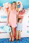 """Carla Goyanes with his son attends to the morning premiere of the film """"Buscando a Dory"""" at Cines Kinepolis in Madrid. June 19. 2016. (ALTERPHOTOS/Borja B.Hojas)"""