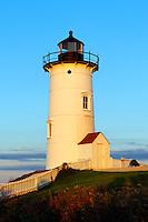 Nobska Point Light, Woods Hole, Cape Cod, MA, Massachusetts,, USA