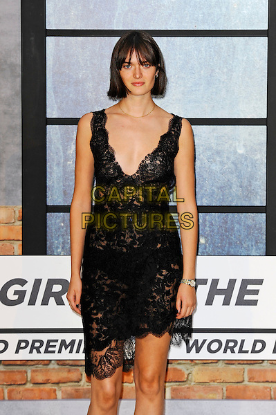 LONDON, ENGLAND - SEPTEMBER 20: Sam Rollinson attending 'The Girl On The Train' World Premiere at Odeon Cinema, Leicester Square on September 20, 2016 in London, England.<br /> CAP/MAR<br /> &copy;MAR/Capital Pictures