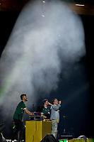 SÃO PAULO, SP, 28.04.2019: PALMEIRAS - FORTALEZA - Di Ferreira durante show antes da partida entre Palmeiras (SP) e Fortaleza (CE) válida pela primeira rodada do Campeonato Brasileiro neste domingo (28) na Arena Palmeiras em São Paulo. (Foto: Maycon Soldan/Código19)