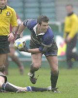31/01/2004 Parker Pen Challenge Trophy.Bath Rugby v Beziers.Martyn Wood...   [Mandatory Credit, Peter Spurier/ Intersport Images].