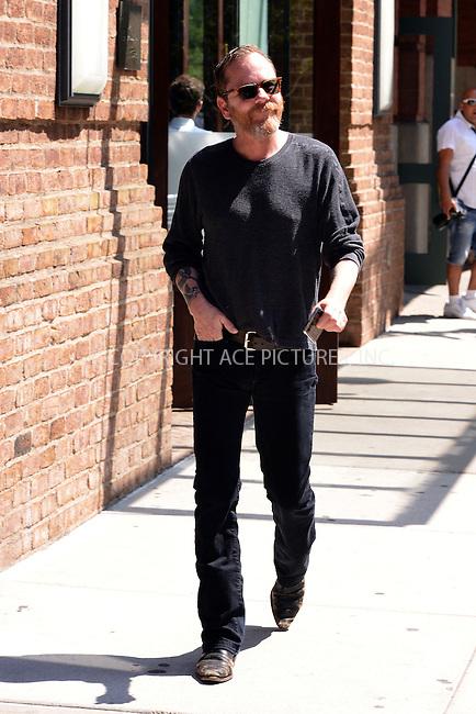 WWW.ACEPIXS.COM<br /> <br /> June 8 2015, New York City<br /> <br /> Actor Kiefer Sutherland walks in Tribeca on June 8 2015 in New York City<br /> <br /> By Line: Curtis Means/ACE Pictures<br /> <br /> <br /> ACE Pictures, Inc.<br /> tel: 646 769 0430<br /> Email: info@acepixs.com<br /> www.acepixs.com