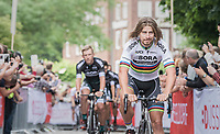 World Champion Peter Sagan (SVK/Bora-Hansgrohe)<br /> <br /> &quot;Le Grand D&eacute;part&quot; <br /> 104th Tour de France 2017 <br /> Team Presentation in D&uuml;sseldorf/Germany
