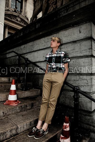 Musician and singer Bent Van Looy, frontman of the Belgian band Das Pop (Belgium, 03/09/2009)
