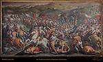 Victory of Cosimo I at Marciano in Val di Chiana Vasari Salone dei Cinquecento (Hall of 500) Palazzo Vecchio Florence