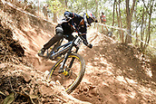7th September 2017, Smithfield Forest, Cairns, Australia; UCI Mountain Bike World Championships; Florent Payet (FRA) from VV RACING during downhill practice