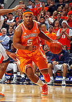 Tennessee forward Jarnell Stokes (5) during the game Wednesday in Charlottesville, VA. Virginia defeated Tennessee 46-38.