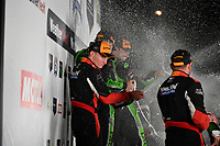 IMSA WeatherTech SportsCar Championship<br /> Motul Petit Le Mans<br /> Road Atlanta, Braselton GA<br /> Saturday 7 October 2017<br /> 31, Cadillac DPi, P, Dane Cameron, Eric Curran, Michael Conway, 2, Nissan DPi, P, Scott Sharp, Ryan Dalziel, Brendon Hartley, 6, ORECA LMP2, P, Helio Castroneves, Simon Pagenaud, Juan Pablo Montoya<br /> World Copyright: Richard Dole<br /> LAT Images<br /> ref: Digital Image RDPLM467