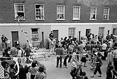 Carol Street Carnival 1979, put on by residents in a row of squatted houses in Camden Town, London, which was later granted short-life status and subsequently became a council-supported housing co-operative.