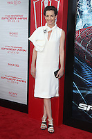 Embeth Davidtz at the premiere of Columbia Pictures' 'The Amazing Spider-Man' at the Regency Village Theatre on June 28, 2012 in Westwood, California. &copy; mpi22/MediaPunch Inc. *NORTEPHOTO.COM*<br />