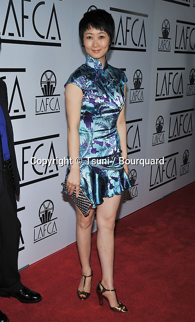Zhao Tao -<br /> LAFCA - Los Angeles Film Critics Association Awards 2009 at the InterContinental Hotel In Los Angeles.