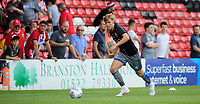 Lincoln City's Alex Bradley during the pre-match warm-up<br /> <br /> Photographer Chris Vaughan/CameraSport<br /> <br /> Football Pre-Season Friendly - Lincoln City v Stoke City - Wednesday July 24th 2019 - Sincil Bank - Lincoln<br /> <br /> World Copyright © 2019 CameraSport. All rights reserved. 43 Linden Ave. Countesthorpe. Leicester. England. LE8 5PG - Tel: +44 (0) 116 277 4147 - admin@camerasport.com - www.camerasport.com