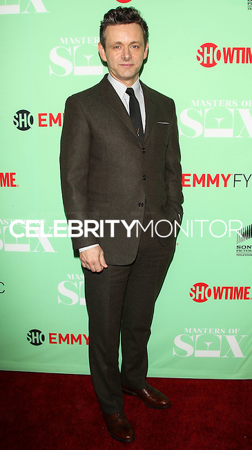"""NORTH HOLLYWOOD, CA, USA - APRIL 29: Michael Sheen at Showtime's """"Masters Of Sex"""" Special Screening And Panel Discussion held at the Leonard H. Goldenson Theatre on April 29, 2014 in North Hollywood, California, United States. (Photo by Celebrity Monitor)"""