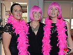 Grainne Lally Black, Rebecca Doherty and Vicki Matthews at the Pink Santa lunch in the Westcourt hotel. Photo:Colin Bell/pressphotos.ie