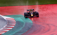 11th July 2020; Styria, Austria; FIA Formula One World Championship 2020, Grand Prix of Styria qualifying sessions; 33 Max Verstappen NLD, Aston Martin Red Bull Racing goes off course at Spielberg Austria