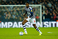29th December 2019; The Hawthorns, West Bromwich, West Midlands, England; English Championship Football, West Bromwich Albion versus Middlesbrough; Semi Ajayi of West Bromwich Albion on the ball - Strictly Editorial Use Only. No use with unauthorized audio, video, data, fixture lists, club/league logos or 'live' services. Online in-match use limited to 120 images, no video emulation. No use in betting, games or single club/league/player publications