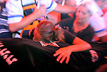 Israeli Yonna Taamam, wife of Tiran Taamam, grieves over his body during his funeral and that of his brother Aryeh, in Akko, northern Israel, Sunday, Aug. 6, 2006. The two Taamam brothers were killed Thursday in a Hezbollah rocket attack JINI/ANCHO GOSH/EPA