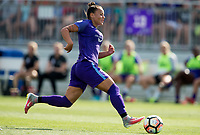 Boyds, MD - July 08 2017: The Washington Spirit tied the Orlando Pride 2-2 during a NWSL game at Maureen Hendricks Field, Maryland SoccerPlex.