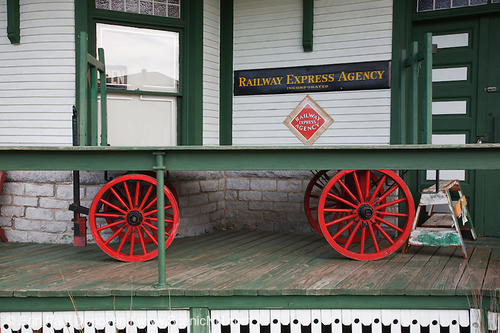 Grand Trunk Railroad Museum in Gorham, New Hampshire USA