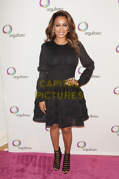 NEW YORK, NY -  FEBRUARY 26: Alani 'La La' Anthony Vazquez attends the Nueva Latina campaign launch at Helen Mills Event Space on February 26, 2014 in New York City.  <br /> CAP/MPI/COR<br /> &copy;Corredor99/ MediaPunch/Capital Pictures