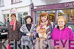 Getting the Christmas shopping in Cahersiveen o Saturday last were l-r; Hannah O'Leary, Jing Foster, Siobhan & Maureen Casey.