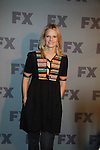 Joelle Carter stars in FX Justified poses on the red carpet at FX 2012 Ad Sales Upfront held on March 29, 2012 at Lucky Stirke, New York, New York. (Photo by Sue Coflin/Max Photos)