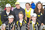 Rowers from Muckross RC who competed at the Killarney Regatta on Sunday front l-r:  Alison Shaw, Holly Hickey, Cora O'connor. Back row: Niamh Cagney, Elaine Daly, Aileen Crowley and Orla Cagney..