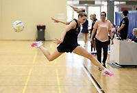 09.10.2018 Silver Ferns Jane Watson during training in  Townsville. Mandatory Photo Credit ©Michael Bradley.