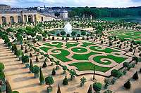 France, Versailles, The Gardens of Versailles and The Orangery