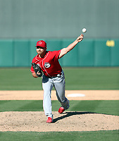 Jesse Biddle - Cincinnati Reds 2020 spring training (Bill Mitchell)