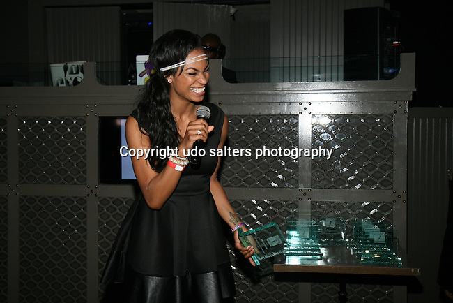 Honoree KRYSTAL GARNER at DJ Jon Quick's 5th Annual Beauty and the Beat: Heroines of Excellence Awards Honoring AMBRE ANDERSON, DR. MEENA SINGH,<br />