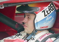 Alan Kulwicki portrait in car Pepsi 400 at Daytona International Speedway in Daytona beach, FL on July 1, 1989. (Photo by Brian Cleary/www.bcpix.com)
