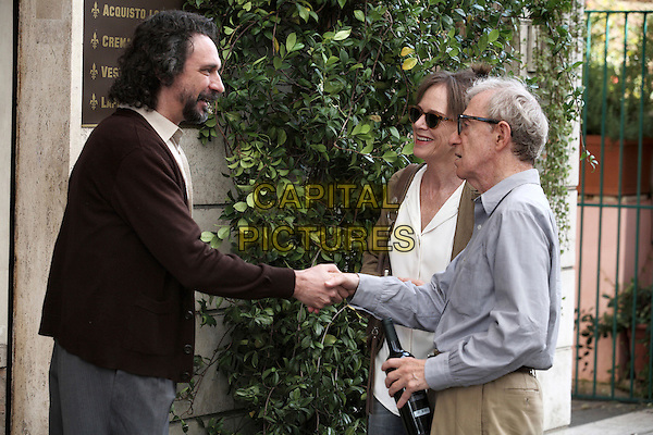 Fabio Armiliato, Judy Davis & Woody Allen.in To Rome With Love .*Filmstill - Editorial Use Only*.CAP/NFS.Supplied by Capital Pictures.