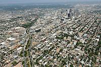 Downtown Denver aerial.  Aug 2013