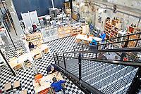 Nederland Eindhoven  2015. Horeca gelegenheid de Pastry Club bij Strijp-S. Foto Berlinda van Dam / Hollandse Hoogte