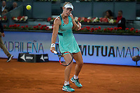 Australian Samantha Stosur during Mutua Madrid Open Tennis 2016 in Madrid,  May 06, 2016. (ALTERPHOTOS/BorjaB.Hojas) /NortePhoto.com