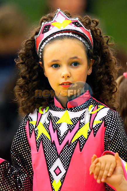 Irish Dancers at the Open Air Ceili in Monasterboice..Picture: Paul Mohan/Newsfile