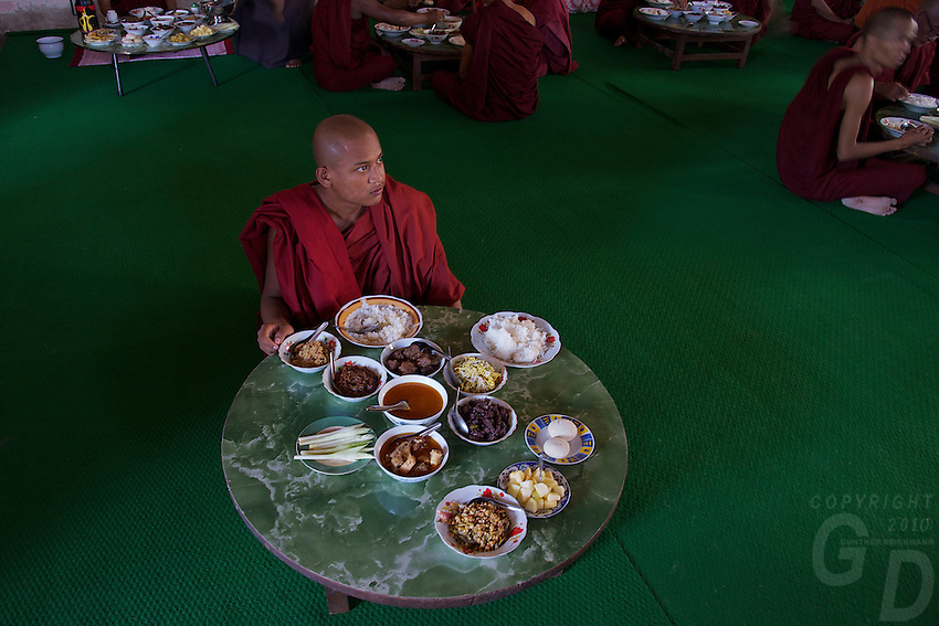 Monastery in the Village of Kyauk Se near Mandalay, Myanmar