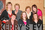 PARTY TIME: Management and Staff of Daybreak Food Store, Tarbert, enjoying their Christmas party in Kirby's Lanterns Hotel, Tarbert, on Friday, December 21st, were front l-r: Mary Cummins, Laura Style and Catherina Fitzgerald. Back l-r: Kathleen Brosnan, Margaret Fitzell, Joan O'Connell and Helena Wren.   Copyright Kerry's Eye 2008