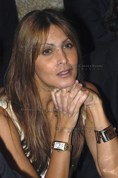 ADRIANA FOSSA, modella, attrice e imprenditrice venezuelana, moglie dell'ex capitano del Milan PAOLO MALDINI.ADRIANA FOSSA, Venezuelan model and actress wife of PAOLO MALDINI