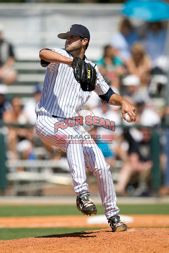 Rice Owls pitcher Taylor Wall #26 winds up against the Memphis TIgers in NCAA Conference USA baseball on May 14, 2011 at Reckling Park in Houston, Texas. (Photo by Andrew Woolley / Four Seam Images)