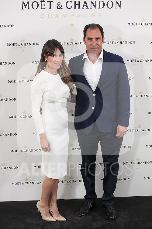 Albert Costa poses during Moet & Chandon event in Madrid, Spain. May 05, 2015. (ALTERPHOTOS/Victor Blanco)