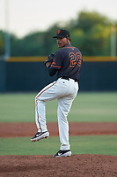 AZL Giants Black relief pitcher Randy Rodriguez (29) during an Arizona League game against the AZL Angels at the Giants Baseball Complex on June 21, 2019 in Scottsdale, Arizona. AZL Angels defeated AZL Giants Black 6-3. (Zachary Lucy/Four Seam Images)