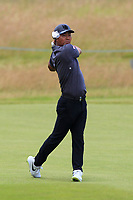 Hideto Tanihara (JPN) on the 12th during Round 2 of the Aberdeen Standard Investments Scottish Open 2019 at The Renaissance Club, North Berwick, Scotland on Friday 12th July 2019.<br /> Picture:  Thos Caffrey / Golffile<br /> <br /> All photos usage must carry mandatory copyright credit (© Golffile | Thos Caffrey)
