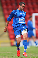 Tom Williams Cyprus International and Hashtag Uninted player during Tottenham Hotspur All-Stars vs Celebrity XI, Charity Match Football at Brisbane Road on 12th May 2013