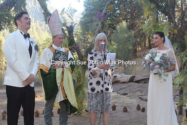 Soren Gray and Sarah-Jane wedding and weekend in Big Bear, California on 9-24-16. (Photo by Sue Coflin/Max Photos)