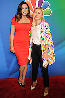 NEW YORK CITY, NY, USA - MAY 12: Kelly Brook, Elisha Cuthbert at the 2014 NBC Upfront Presentation held at the Jacob K. Javits Convention Center on May 12, 2014 in New York City, New York, United States. (Photo by Celebrity Monitor)