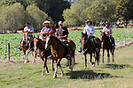 2015 MPC Horse Trek Day 2, 13th March 2015, Lake Station, St Arnaud, Nelson Lakes, New Zealand<br /> Photo: Marc Palmano/shuttersport