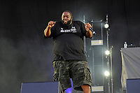 LONDON, ENGLAND - JUNE 30: Killer Mike of 'Run the Jewels' performing at Finsbury Park on June 30, 2018 in London, England.<br /> CAP/MAR<br /> &copy;MAR/Capital Pictures